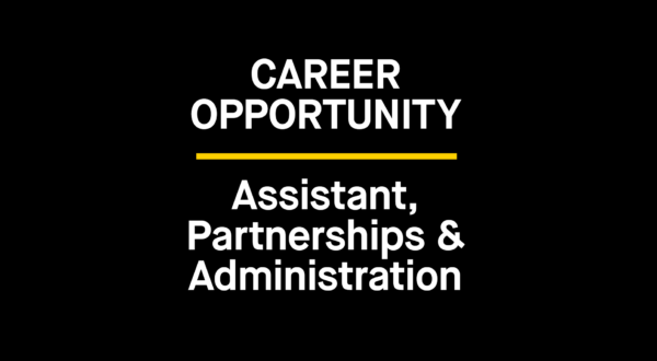 The Bentway is Hiring: Assistant, Partnerships & Administration