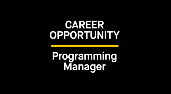 The Bentway is Hiring: Programming Manager