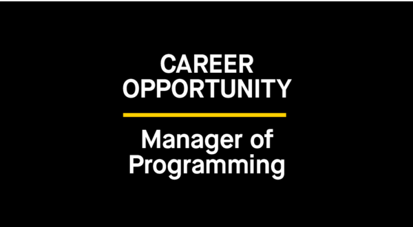 The Bentway is Hiring: Manager of Programming